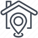 buy, house, property, selection icon