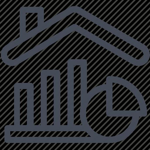 growth, house, market, price icon