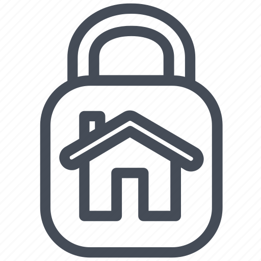 house, protection, shield icon
