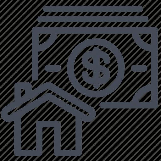 buy, house, price icon