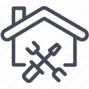 construction, home, renovation, repair icon