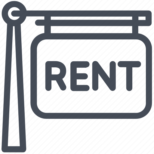 house, property, rent icon