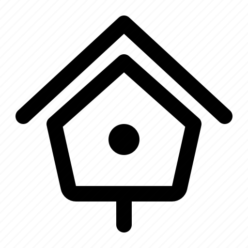 bird box, bird nest, birdhouse, box, house, nest box, structure icon