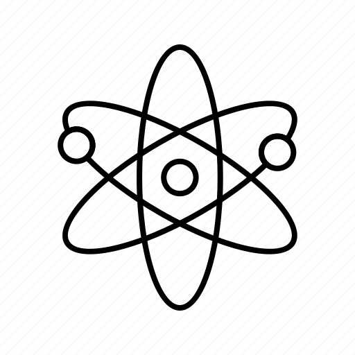 atomic, structure icon