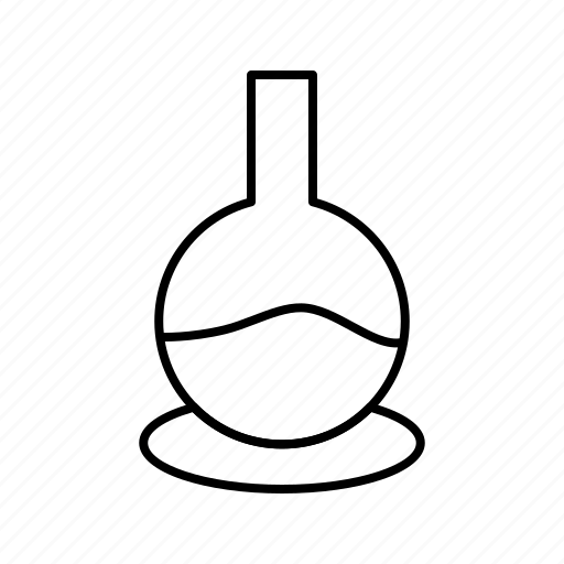 beaker, glass icon