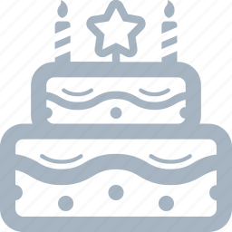 birthday, birthday cake, cake, food, layered cake icon