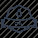 oil, guarantee, label