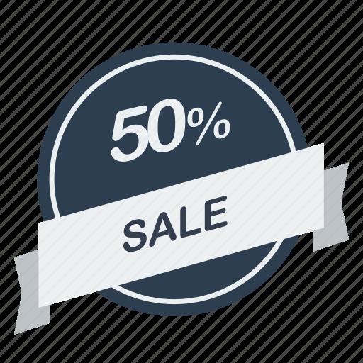 guarantee, label, percent, sale icon