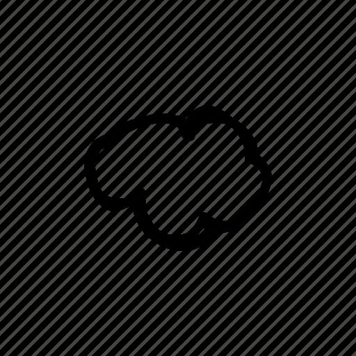 bubble, cartoon, cloud, comic, thought icon