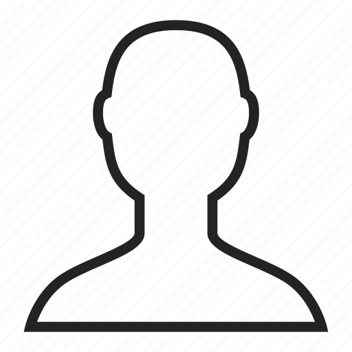 face, head, user icon