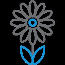 blossom, decoration, flower, garden, plant icon