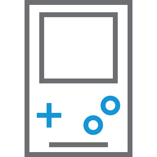 duo, gameboy, gamepad, gaming, play icon