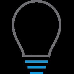 bulb, creative, light, lightbulb, power icon