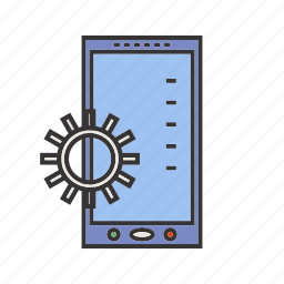 app, developing, mobile icon
