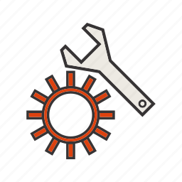 gear, options, seo, settings icon