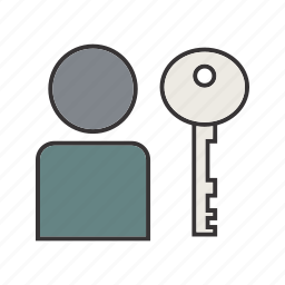 account, authentication, profile, user icon