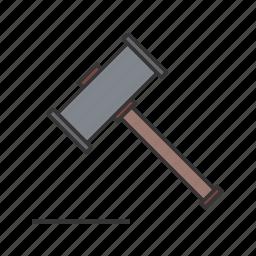 hammer, seo icon