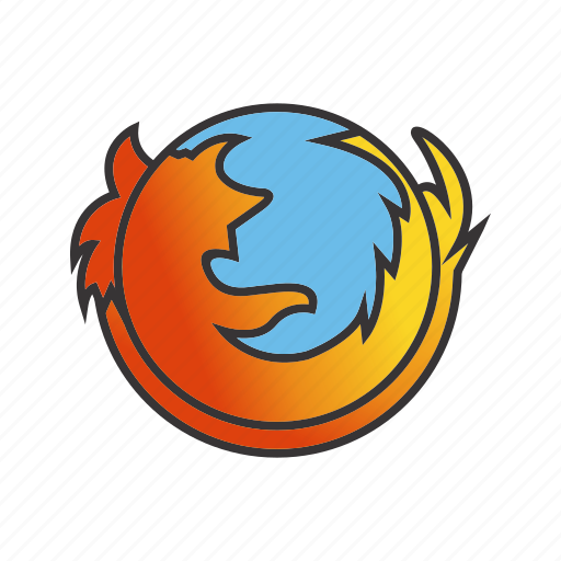 firefox, logo, seo, sign, social icon