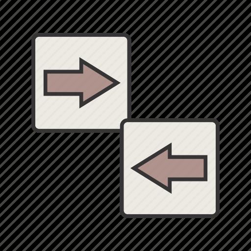 arrow, directions, seo icon