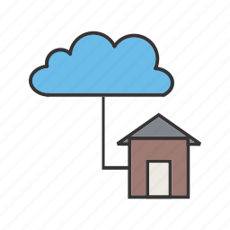 cloud, connections, network, seo, web icon