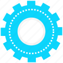 circle, computer, connection, setting, technical, web, wheel icon