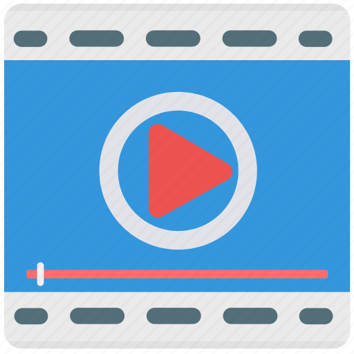 audio, frame, media, play, screen, video, video player icon