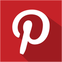 media, pinterest, set, shadow, social icon