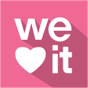 media, set, shadow, social, weheartit icon