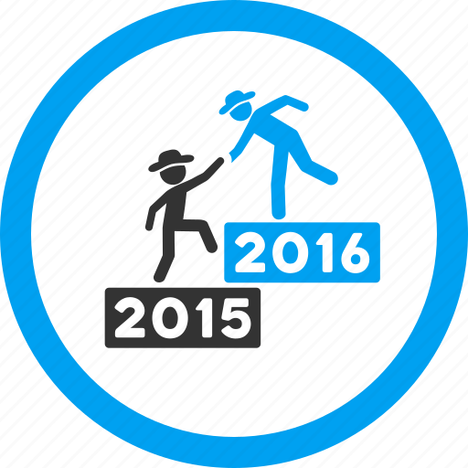 business, education, gentlemen help, learning, school, training, year 2016 icon