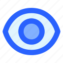 eye, reveal, security, show, sight icon