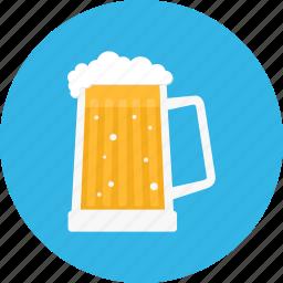 beer, bier, drink, mug, pint icon