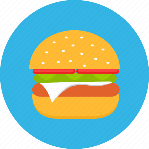burger, eating, fast, fastfood, food, meal, sandwich icon