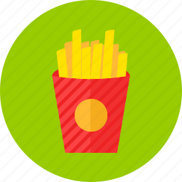 fast, fastfood, food, french, fries, pack, potato icon
