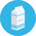 bottle, drink, milk, pack icon