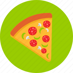 eating, fastfood, food, junkfood, pizza, restaurant icon