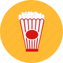box, pack, package, popcorn, product, snack icon