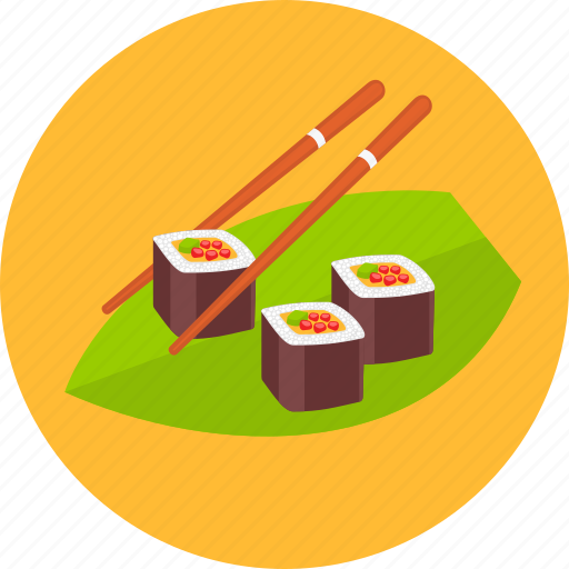 asian, food, healthy, japan, japanese, sushi icon