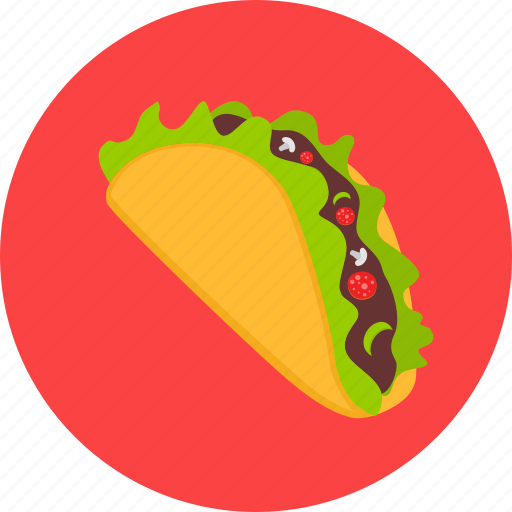 mexican, mexico, shawarma, taco, tacos, tortilla icon