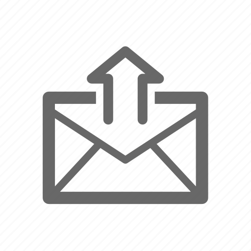 Envelope, send, write, letter, mail, email icon
