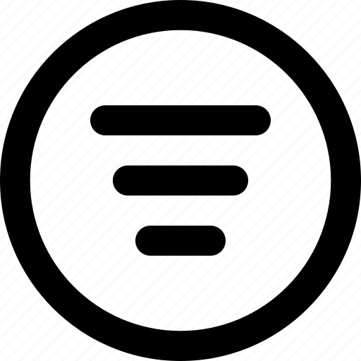 filter, filtering, sort, sort list, sorting icon