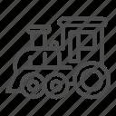train, locomotive, steam, transportation, railway, toy, wheel