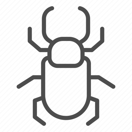 Beetle, insect, nature, bug, antennae, horn, deer icon - Download on Iconfinder