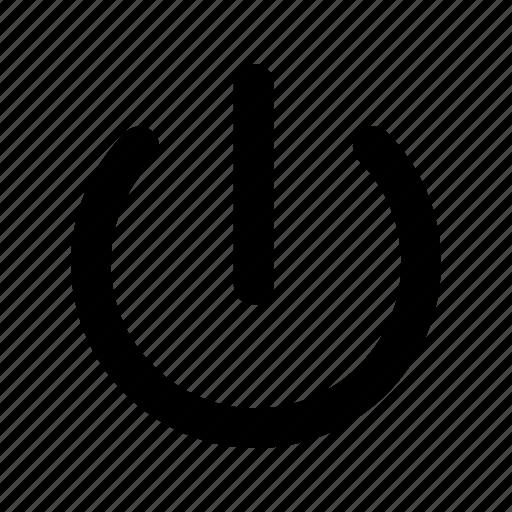off, on, power, shutdown, switch icon