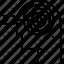 arrow, focus, precision, target icon