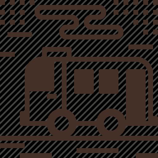 bus, public, service, transportation icon