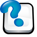 adobe, center, help, question mark icon