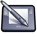 intuos, tablet, wacom icon