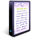 documents, text icon
