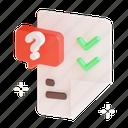 survey, questionnaire, exam