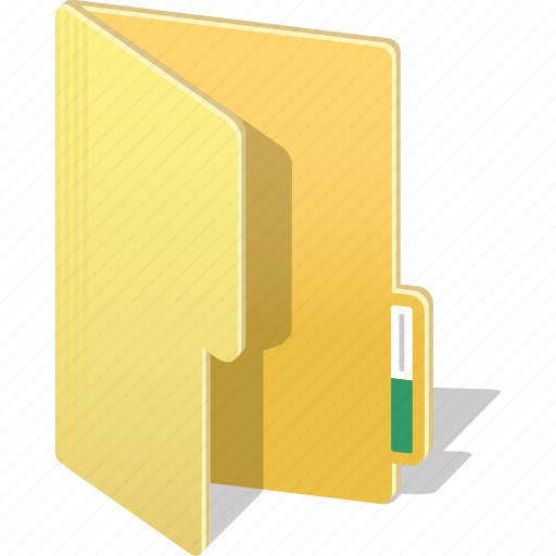 archive, directory, document, file, folder, open icon